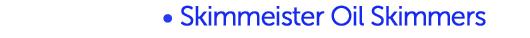 A-Ryung Skimmeister Oil Skimmers